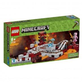 21130 LEGO Minecraft Die Nether-Eisenbahn
