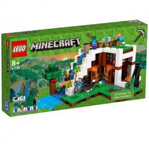 21134 LEGO Minecraft Unterschlupf im Wasserfall