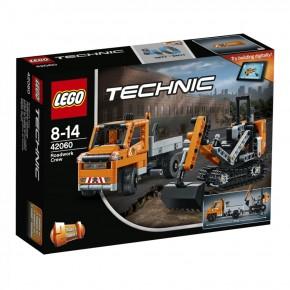 LEGO 42060 Technic Straßenbau-Fahrzeuge