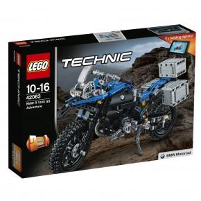 LEGO 42063 Technic BMW R 1200 GS Adventure Motorrad B-Ware OVP