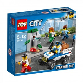 LEGO 60136 City Polizei-Starter-Set