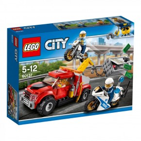 LEGO 60137 City Abschleppwagen auf Abwegen B-Ware OVP