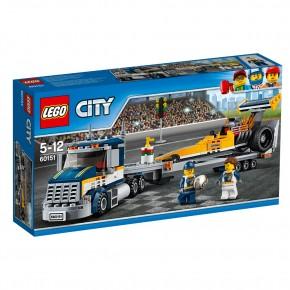 LEGO 60151 City Dragster-Transporter