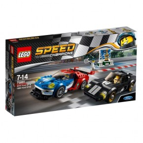 75881 LEGO Speed 2016 Ford GT & 1966 Ford GT40