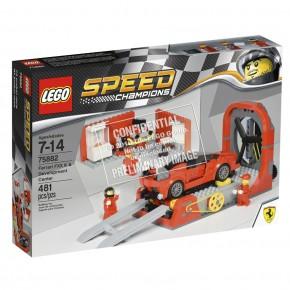 75882 LEGO Speed Ferrari FXX K & Entwicklungszentrum