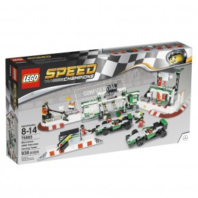 LEGO 75883 Speed MERCEDES AMG PETRONAS Formel-1 Team
