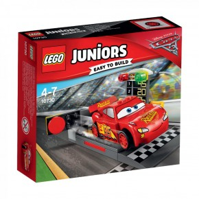 10730 LEGO® Juniors Cars L. McQueens Beschleunigungsrampe