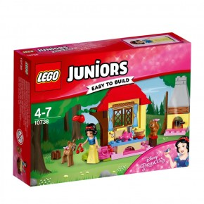 10738 LEGO® Juniors DP Schneewittchens Hütte im Wald B-Ware OVP