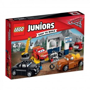 10743 LEGO® Juniors CARS Smokeys Garage B-Ware OVP