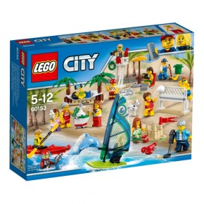 60153 LEGO® City Stadtbewohner Ein Tag am Strand