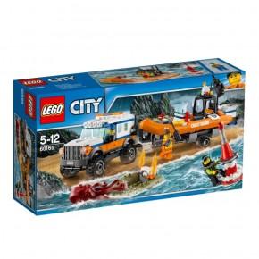 60165 LEGO® City Geländewagen mit Rettungsboot B-Ware OVP