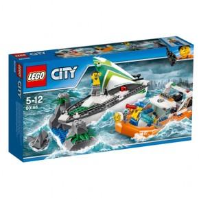 60168 LEGO® City Segelboot in Not B-Ware OVP