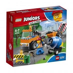 10750 LEGO® Juniors Straßenbau-Laster