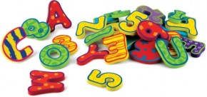 Nüby Bade-Buchstaben und Zahlen 36tlg