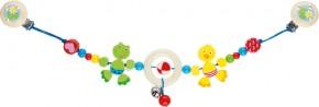 HEIMESS Kinderwagenkette Frosch und Ente