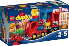 LEGO DUPLO 10608 Spider-Man Spider-Truck-Abenteuer