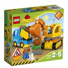Lego 10812 Duplo-Bagger & Lastwagen B-Ware OVP
