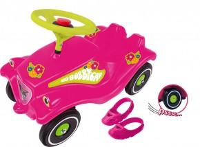 BIG Bobby Car Flower mit Flüsterrädern und Schuhschoner