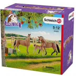 Schleich® HC 42405 Hannoveraner Familie auf der Weide