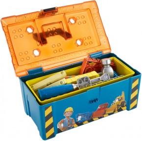 Mattel Bob der Baumeister Werkzeugbox mit Kreissäge