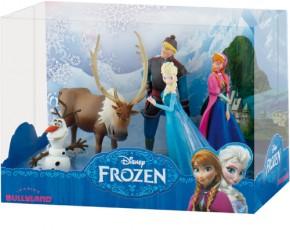 BULLYLAND Disney FROZEN Die Eiskönigin Deluxe Set