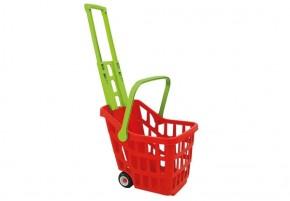 Kaufladen Einkaufswagen-Trolley farbl. sort. ab2j