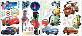 DISNEY Pixar Cars  Wandtattoo 26tlg