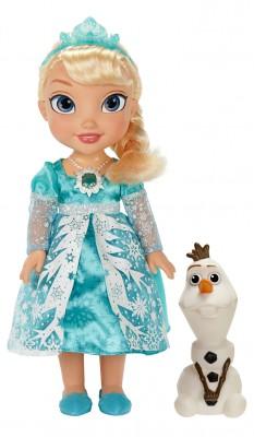 Disney Eiskönigin Puppe Glitzerschnee Elsa 35cm