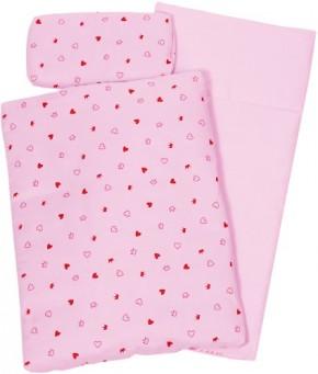 Puppenbettzeug rosa 41 x 31 x 5 cm
