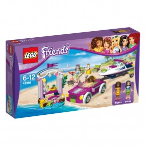 41316 LEGO® Friends Andreas Rennboot Transporter