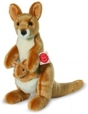 Känguru mit Baby Plüsch 30cm