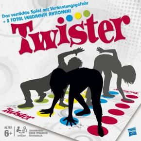 Twister Verknotungsspaß Bewegungsspiel