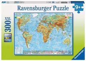 Politische Weltkarte Ravensburger Puzzle 300 B-Ware OVP