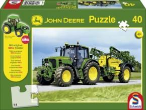 Puzzle John Deere Traktor 6630 40 Teile
