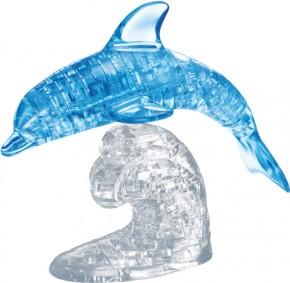 Puzzle 3D Crystal Delfin blau 100 Teile