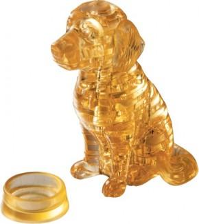 Puzzle 3D Crystal Golden Retriever 41T