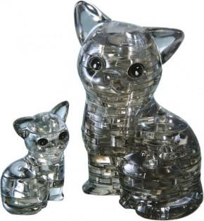 Puzzle 3D Crystal Katzenpaar 49 Teile