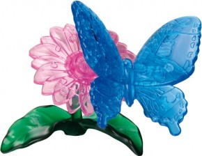 Puzzle 3D Crystal Schmetterling 38 Teile