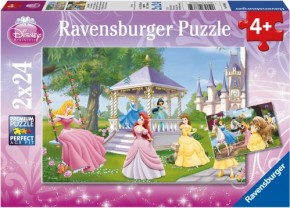 Puzzle Disney Princess Zauberhafte Prinzessinnen 2x24 Teile