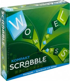 Mattel Scrabble Kompakt Reisespiel