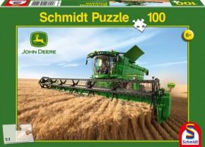 Puzzle Mähdrescher 100 Teile