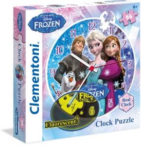 Puzzleuhr Disney FROZEN Die Eiskönigin 96 Teile
