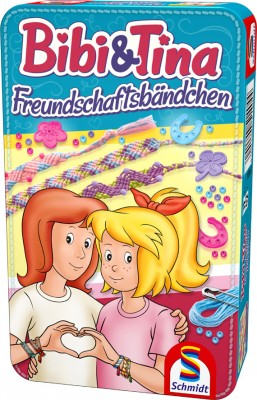 Bibi & Tina Freundschaftsbändchen Knüpfspaß BMM