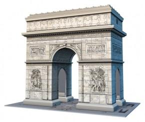 Ravensburger 3D Puzzle Triumphbogen Paris Arc de Triomphe 216 Teile