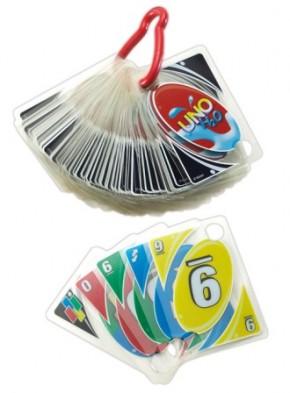 Uno H2O Kartenspiel wasserfest Mattel