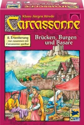 Carcassonne Brücken, Burgen und Basare 8. Erw.