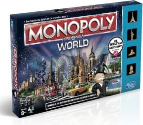 Monopoly World mit Spielgeld B-Ware