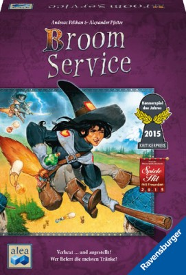 Broom Service Brettspiel