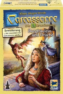 Carcassonne Burgfräulein & Drache 3. Erweiterung