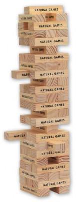 Natural Games Wackel-Turm Geschicklichkeitsspiel